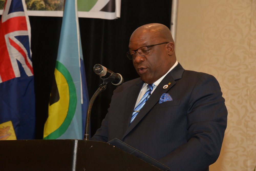 Chair of CARICOM, Dr. the Hon. Timothy Harris, Prime Minister of St. Kitts and Nevis